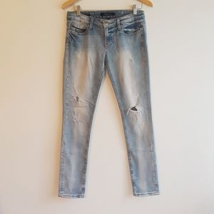Vigoss Studio Brooklyn skinny distr/destroyed jean
